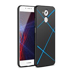 Huawei Enjoy 6S用ハードケース プラスチック ライン ファーウェイ ブラック