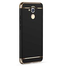 Huawei Enjoy 6S用ケース 高級感 手触り良い アルミメタル 製の金属製 ファーウェイ ブラック