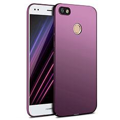 Huawei Enjoy 7用ハードケース プラスチック 質感もマット ファーウェイ パープル