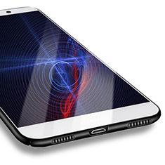 Huawei Enjoy 7 Plus用ハードケース プラスチック 質感もマット M07 ファーウェイ ブラック