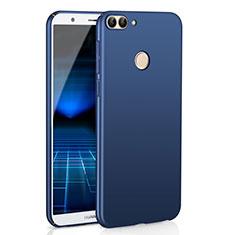 Huawei Enjoy 7S用ハードケース プラスチック 質感もマット M01 ファーウェイ ネイビー