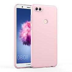 Huawei Enjoy 7S用ハードケース プラスチック 質感もマット ファーウェイ ピンク
