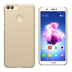 Huawei Enjoy 7S用ハードケース プラスチック 質感もマット M02 ファーウェイ ゴールド