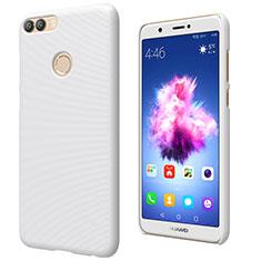 Huawei Enjoy 7S用ハードケース プラスチック 質感もマット M02 ファーウェイ ホワイト