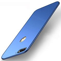 Huawei Enjoy 8e用極薄ソフトケース シリコンケース 耐衝撃 全面保護 S01 ファーウェイ ネイビー