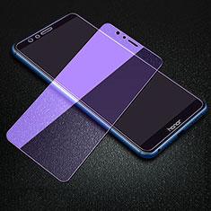 Huawei Enjoy 8e用アンチグレア ブルーライト 強化ガラス 液晶保護フィルム B01 ファーウェイ クリア