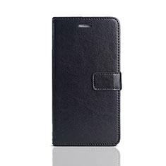 Huawei Enjoy 8e Lite用手帳型 レザーケース スタンド カバー ファーウェイ ブラック