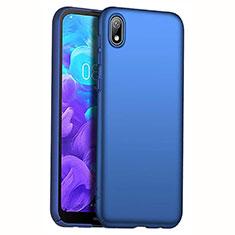 Huawei Enjoy 8S用ハードケース プラスチック 質感もマット M01 ファーウェイ ネイビー