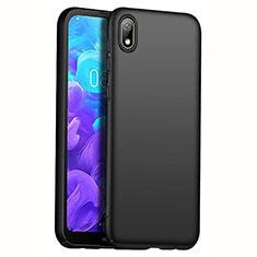 Huawei Enjoy 8S用ハードケース プラスチック 質感もマット M01 ファーウェイ ブラック