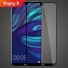 Huawei Enjoy 9用強化ガラス フル液晶保護フィルム ファーウェイ ブラック