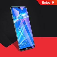 Huawei Enjoy 9用強化ガラス フル液晶保護フィルム F04 ファーウェイ ブラック