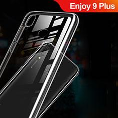 Huawei Enjoy 9 Plus用極薄ソフトケース シリコンケース 耐衝撃 全面保護 クリア透明 T03 ファーウェイ クリア