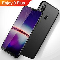 Huawei Enjoy 9 Plus用極薄ソフトケース シリコンケース 耐衝撃 全面保護 S02 ファーウェイ ブラック