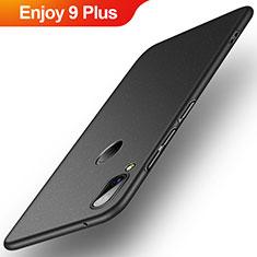 Huawei Enjoy 9 Plus用ハードケース プラスチック 質感もマット P01 ファーウェイ ブラック