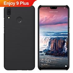 Huawei Enjoy 9 Plus用ハードケース プラスチック 質感もマット M02 ファーウェイ ブラック