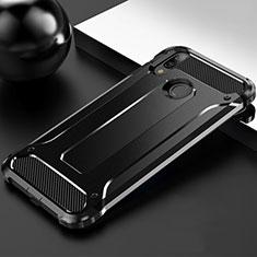 Huawei Enjoy 9 Plus用360度 フルカバー極薄ソフトケース シリコンケース 耐衝撃 全面保護 バンパー S01 ファーウェイ ブラック