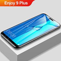 Huawei Enjoy 9 Plus用強化ガラス フル液晶保護フィルム F03 ファーウェイ ブラック