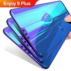 Huawei Enjoy 9 Plus用高光沢 液晶保護フィルム フルカバレッジ画面 ファーウェイ クリア