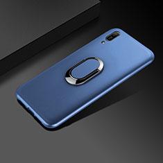 Huawei Enjoy 9e用極薄ソフトケース シリコンケース 耐衝撃 全面保護 S01 ファーウェイ ネイビー