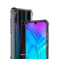 Huawei Enjoy 9s用極薄ソフトケース シリコンケース 耐衝撃 全面保護 クリア透明 T02 ファーウェイ クリア