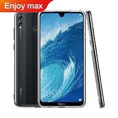 Huawei Enjoy Max用極薄ソフトケース シリコンケース 耐衝撃 全面保護 クリア透明 T06 ファーウェイ クリア