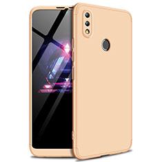 Huawei Enjoy Max用ハードケース プラスチック 質感もマット 前面と背面 360度 フルカバー ファーウェイ ゴールド
