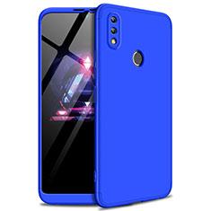 Huawei Enjoy Max用ハードケース プラスチック 質感もマット 前面と背面 360度 フルカバー ファーウェイ ネイビー
