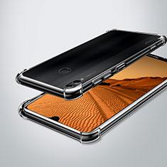 Huawei Enjoy Max用極薄ソフトケース シリコンケース 耐衝撃 全面保護 クリア透明 H02 ファーウェイ クリア