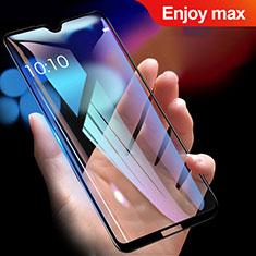 Huawei Enjoy Max用強化ガラス フル液晶保護フィルム ファーウェイ ブラック