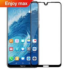 Huawei Enjoy Max用強化ガラス フル液晶保護フィルム F02 ファーウェイ ブラック