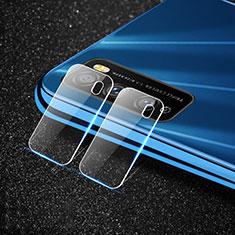 Huawei Enjoy Z 5G用強化ガラス カメラプロテクター カメラレンズ 保護ガラスフイルム C01 ファーウェイ クリア