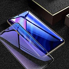 Huawei Enjoy Z 5G用強化ガラス フル液晶保護フィルム アンチグレア ブルーライト ファーウェイ ブラック