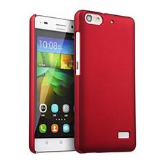 Huawei G Play Mini用ハードケース プラスチック 質感もマット ファーウェイ レッド