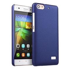 Huawei G Play Mini用ハードケース プラスチック 質感もマット ファーウェイ ネイビー