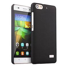 Huawei G Play Mini用ハードケース プラスチック 質感もマット ファーウェイ ブラック