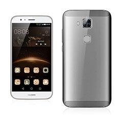 Huawei G7 Plus用極薄ケース クリア透明 プラスチック ファーウェイ グレー