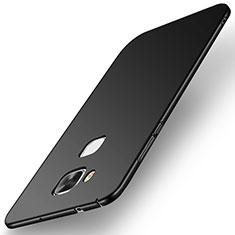 Huawei G7 Plus用ハードケース プラスチック 質感もマット M01 ファーウェイ ブラック