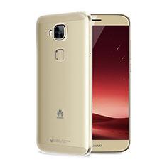 Huawei G7 Plus用極薄ソフトケース シリコンケース 耐衝撃 全面保護 クリア透明 T04 ファーウェイ クリア