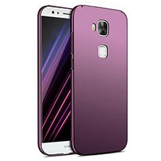 Huawei G7 Plus用ハードケース プラスチック 質感もマット M02 ファーウェイ パープル