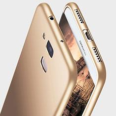 Huawei G7 Plus用極薄ソフトケース シリコンケース 耐衝撃 全面保護 S03 ファーウェイ ゴールド