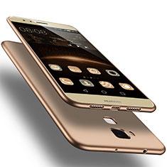 Huawei G8用極薄ソフトケース シリコンケース 耐衝撃 全面保護 ファーウェイ ゴールド