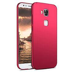 Huawei G8用ハードケース プラスチック 質感もマット M02 ファーウェイ レッド