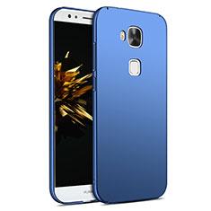 Huawei G8用ハードケース プラスチック 質感もマット M02 ファーウェイ ネイビー