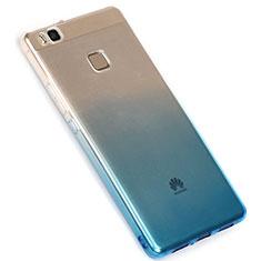 Huawei G9 Lite用極薄ソフトケース グラデーション 勾配色 クリア透明 G01 ファーウェイ ネイビー