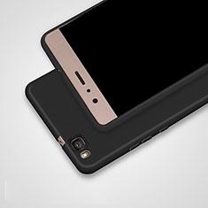 Huawei G9 Lite用極薄ソフトケース シリコンケース 耐衝撃 全面保護 S02 ファーウェイ ブラック