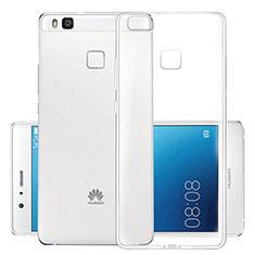 Huawei G9 Lite用極薄ソフトケース シリコンケース 耐衝撃 全面保護 クリア透明 T03 ファーウェイ クリア