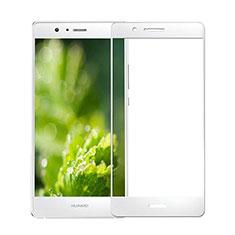 Huawei G9 Lite用強化ガラス フル液晶保護フィルム ファーウェイ ホワイト