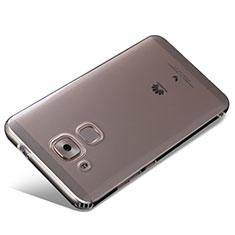 Huawei G9 Plus用極薄ソフトケース シリコンケース 耐衝撃 全面保護 クリア透明 R01 ファーウェイ クリア