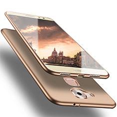 Huawei G9 Plus用極薄ソフトケース シリコンケース 耐衝撃 全面保護 S02 ファーウェイ ゴールド