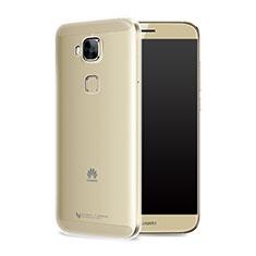 Huawei G9 Plus用極薄ソフトケース シリコンケース 耐衝撃 全面保護 クリア透明 T05 ファーウェイ クリア